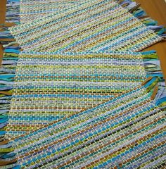 Fabric Fascination: Rustic Handwoven Placemats