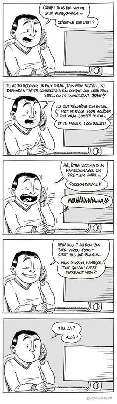 Comic : Oh la belle prise ! - New Slang