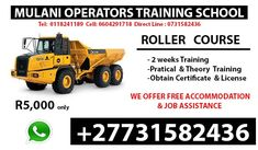 +27731582436 WE OFFER THE BEST COURSES  FOLK LIFT, DUMP TRUCK,GRADER, EXCAVATOR, SUPER LINK, RIGGED VEHICLES,MOBILE CRANES, TLB, TRUCK MOUNTED CRANE, CO2 WELDING, INDUSTRIAL STEEL, ARC, ALUMINIUM AGONY WELDING, FRONT END LOADER, BULL DOZER, LHD SCOOP,AND MANY MORE. Co2 Welding, Truck Mounted Crane, Training School, Dump Truck, Folk, Industrial, Trucks, Steel, Vehicles