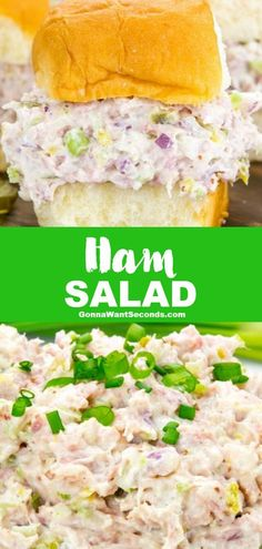 1 reviews · 10 minutes · Gluten free · Serves 8 · My Ham Salad is a perfectly balanced masterpiece of salty, sweet, and spicy, with smoky bits of ham and a light, creamy base that's destined to top every cracker on your party buffet. It's a new and… More Ham And Cabbage Soup, Cooked Cabbage, Ham Salad Recipes, Pork Recipes, Sandwich Recipes, Dinner Recipes, Seven Layer Salad, Easy Skillet Meals, Homemade Crackers