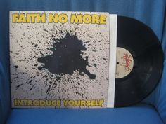 RARE Vintage Faith No More  Introduce Yourself by sweetleafvinyl, $27.99