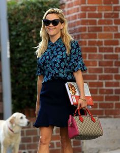 Reese Witherspoon Photos Photos - Actress and busy mom Reese Witherspoon and her…