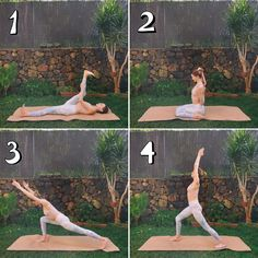 Rather than rushing through twenty poses in 5 minutes, I try to focus on few key poses with longer holds to really work up those tight achy muscles. Morning Yoga Flow, At Home Workouts, Yoga Workouts, Yoga For Flexibility, Free Yoga, Yoga Routine, Yoga For Beginners, Yoga Fitness, Yoga Poses