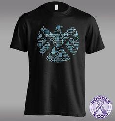 Alien Agents - Agents of Shield Tshirt by DoodleDojo on Etsy #agentsofshield #kree #geek