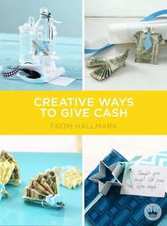 Need graduation gift ideas? All grads can use some extra cash. Try these creative ways to give money or gift cards—and make that grad extra-glad!