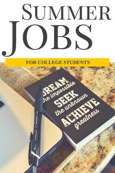 Summer Jobs for College Students - LivingLesh // Need some extra income for the summer? See these summer job ideas for college students.
