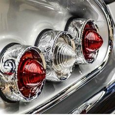 Car Part Art, American Classic Cars, Metal Engraving, Hood Ornaments, Car Photography, Car Lights, Car Detailing, Kustom, Tail Light