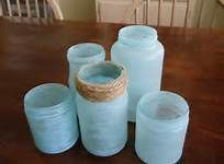 faux seaglass jars - Bing Images