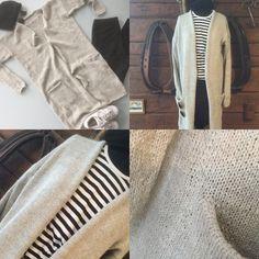 Long cardigan. Long Cardigan, Khaki Pants, Fashion, Long Cardigan Sweater, Moda, Khakis, Fashion Styles, Fashion Illustrations, Trousers