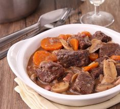 Simple Slow Cooker Coq Au Vin Recipe from Whole Foods Market on FoodPair Slow Cooker Soup, Slow Cooker Recipes, Cooking Recipes, Fondue Recipes, Easy Recipes, Slow Cooking, Crockpot Beef Bourguignon, Bourguignon Recipe, Whole Foods Market