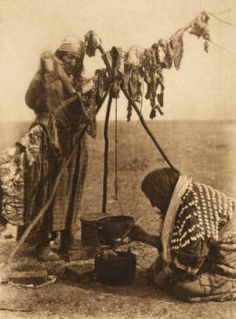 Blackfoot cookery (The North American Indian,