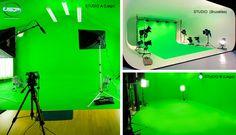 chez USP Movies, vous pouvez disposer de 3 studios Green Key, Studios fond vert, Fond Bleu, Liège, Bruxelles. Location à partir de 250 € Lumières comprise !