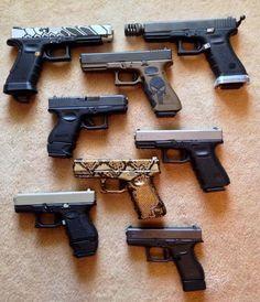 Did you know that the Glock 14 is a shovel Weapons Guns, Guns And Ammo, Glock Guns, Zombie Weapons, Pocket Pistol, 9mm Pistol, Revolvers, Custom Guns, Military Guns