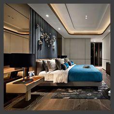 Bedroom Ideas / Home design ideas Contemporary Bedroom, Modern Bedroom, Contemporary Office, Contemporary Architecture, Contemporary Building, Contemporary Cottage, Contemporary Apartment, Contemporary Wallpaper, Contemporary Chandelier