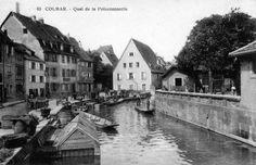 Quai de la poissonnerie Petite Venise Colmar / Alsace / France