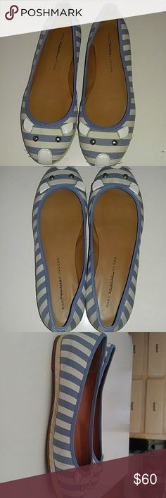 Marc by Marc Jacobs flat Blue and white cute Mouse flats ! Marc By Marc Jacobs Shoes Flats & Loafers