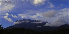 Clouds travel by the strong winds toward the mountain. Mount Kinabalu, Strong Wind, Sea Level, Borneo, Natural World, Exotic, Mountain, Challenges, Clouds