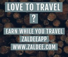 Zaldee® connects travelers and shippers: Traveler - earn while you travel® by utilizing excess baggage space available with you while traveling. Shipper - Ship your package to anyone anywhere anytime. Free Travel, Cheap Travel, Budget Travel, Excess Baggage, Sharing Economy, Countries, Traveling By Yourself, Cities, Journey