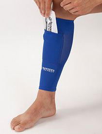 MUST HAVE Runners Remedy Shin Wrap lets you combine compression w/ ice!