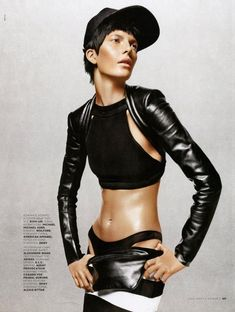 More sporty looks from 'XOP ART' in Vogue Russia March 2013