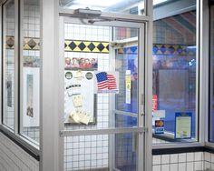 Untitled (Waffle House), 2015Casey Michael Robertson Michael Robertson, American Space, New Paltz, Waffle House, Jukebox, Lockers, Locker Storage, Cabinet, Furniture