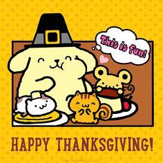 Sanrio: Pompompurin:) thanksgiving