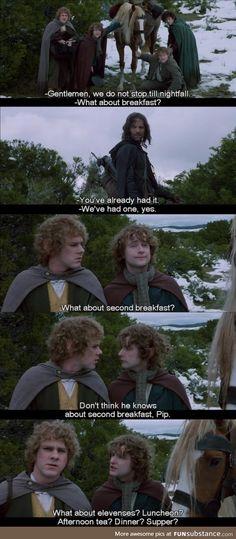 I love my Hobbitses