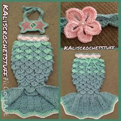 Crochet Mermaid Tail pattern PDF INSTANT DOWNLOAD, chevron style fin by KalisGraceCrochet on Etsy https://www.etsy.com/listing/230205573/crochet-mermaid-tail-pattern-pdf-instant