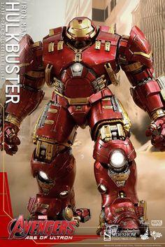 Increíble figura de la HulkBuster