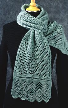 Diamond Trilogy Scarves #Fiddlesticks Knitting