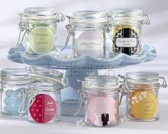 Frascos con deliciosos dulces /  Cussí Gifts and Ideas / Recuerdos para los invitados al a boda / DF