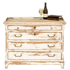Furniture :: Chests & Dressers :: Rustic French Farm Chic Chest