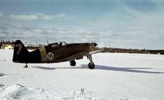 Photo: Finnish fighter Moran-Solnier MS.406 at the aerodrome near Petrozavodsk [2]
