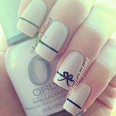 cute simple elegant girly nails