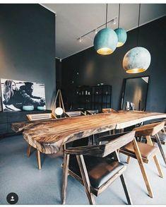 beautiful wood table