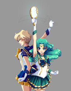 Sailor Moon / Neptune and Uranus / I do what I want :p