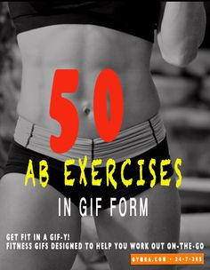 50 Ab Exercises In Gif Form