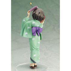 Girls und Panzer FREEing 1/8 Scale Figure : Yukari Akiyama [Yukata Ver.]