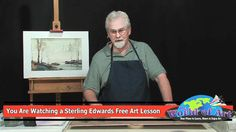 How to Paint Sand Dunes and Sea Oats with Sterling Edwards