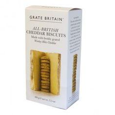 Galletas de queso Great Britain - Tienda gourmet online   masquegourmet.es