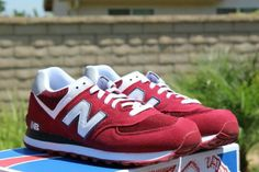 New Balance red New Balance Red, Sneakers, Shoes, Fashion, Tennis, Moda, Slippers, Zapatos, Shoes Outlet