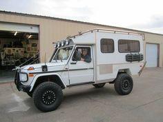 Mercedes G Wagen Camper