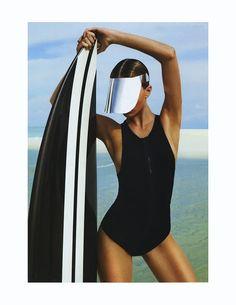 Ed. Wave Rider para Harper's Bazaar Australia Fotografía: Simon Lekias Modelo: Annabella Barber