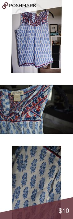 Lucky Brand Tank - Sz: Medium - NEVER WORN Never worn, Lucky Brand sleeveless blouse. Lucky Brand Tops Tank Tops
