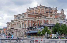 Stockholm Kungliga operan vid Kungsträdgården