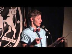 ▶ Dia Davina - The Polyamorous Mating Habits of the North American Red Squirrel - YouTube    Slam poetry