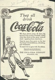 50 Incredible Vintage Baseball Advertisements