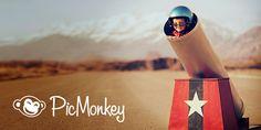 Crea fotos, logos, portadas para Facebook y gráficos para redes sociales con el software para edición de fotos y diseño gráfico de PicMonkey. Fácil de usar, pero poderoso.