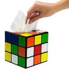 Zauberwürfel Taschentuchbox aus Big Bang Theory