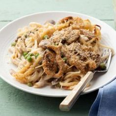 Chicken Tetrazzini (by Giada De Laurentis)